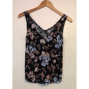 American Eagle soft & Sexy Floral Tank Top
